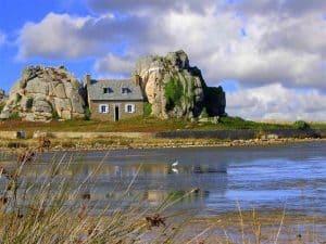 site exceptionnel du gouffre Plougrescant