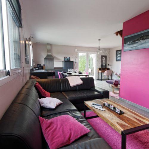 location suite Amiral : sejour salon
